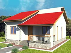 Unic Rotarex products steel structure for small house