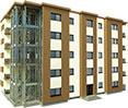 steel structure for five floors block