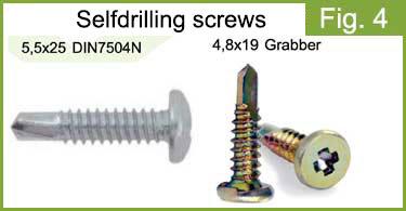 Selfdrilling screws