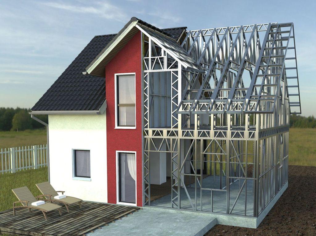 Casa metalica Rotarex