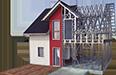 Tehnologii - case pe structura metalica