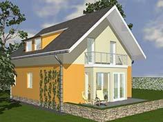Structura metalica din tabla de otel zincat pentru Casa-compacta-1005