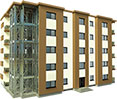 blocuri cu structura metalica Unic Rotarex®