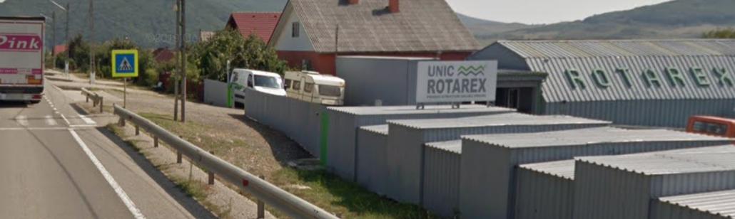Intrare la Unic Rotarex® dinspre Dej.