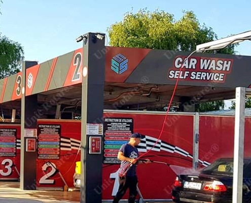 Spalatorie auto self service carwash