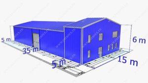 Proiecte hale metalice Unic Rotarex®